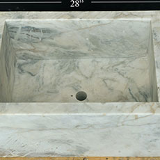 Marble Trough 17